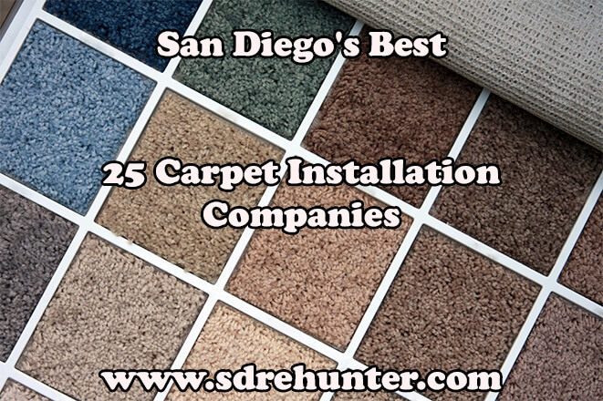 San Diego's Best 25 Carpet Installation Companies in 2018