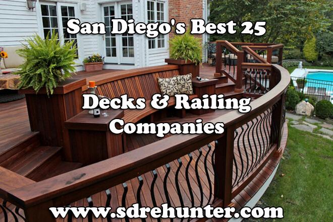 Best Deck Stains 2020 San Diego's Best 25 Decks & Railing Companies 2019 | 2020