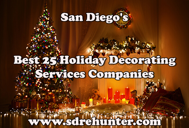 san diegos best 25 holiday decorating services companies in 2017 - Christmas Decorations San Diego
