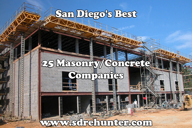 San Diego's Best 25 Masonry/Concrete Companies in 2018