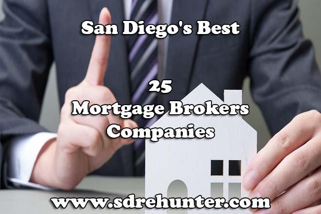Best Brokers 2020 San Diego's Best 25 Mortgage Brokers Companies 2019 | 2020