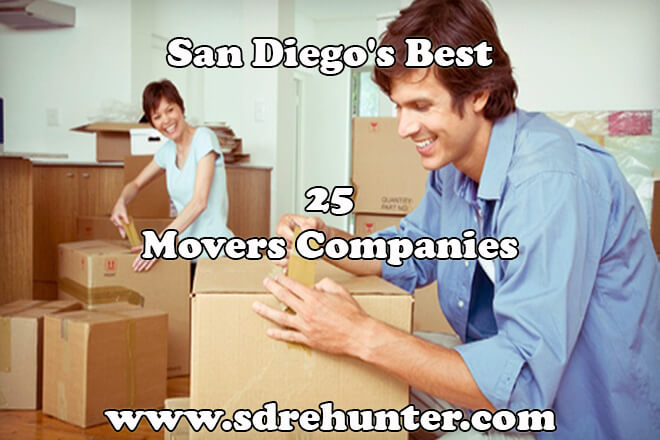San Diego's Best 25 Movers Companies in 2018