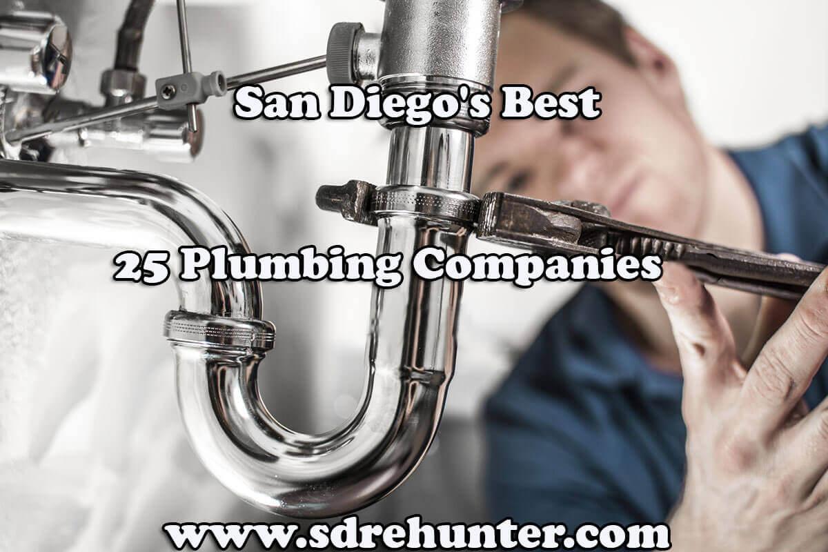 San Diego's Best 25 Plumbing Companies in 2018