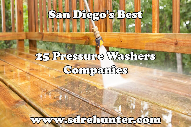 Best Electric Power Washers 2020 San Diego's Best 25 Pressure Washers Companies 2019 | 2020