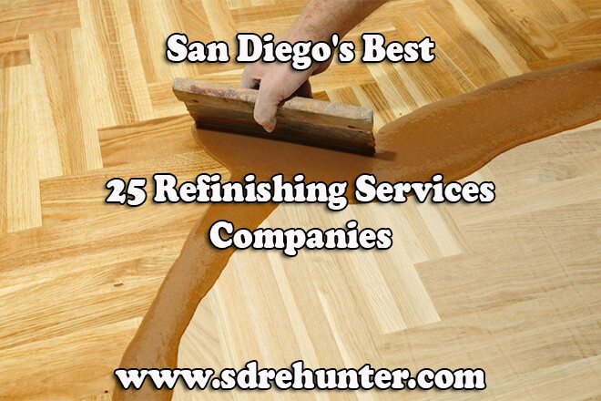 San Diegos Best 25 Refinishing Services Companies In 2018