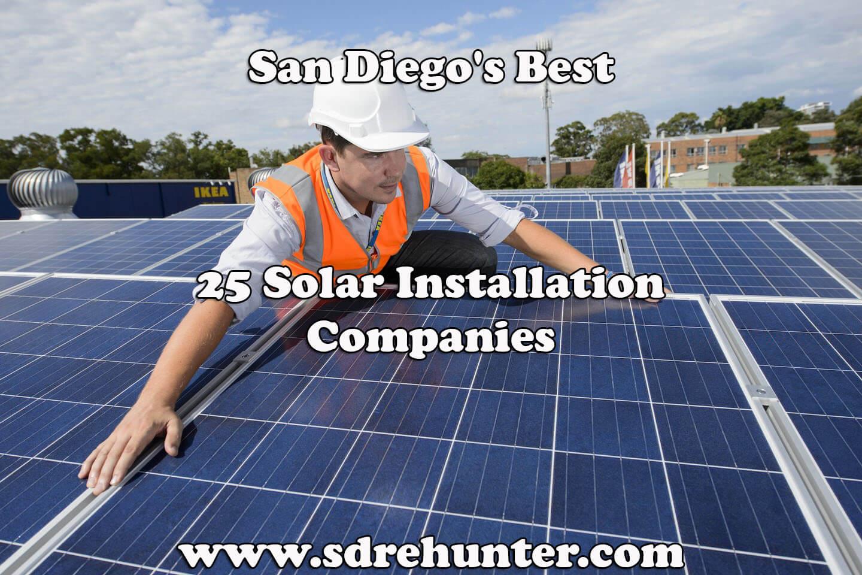 Best Solar Panels 2020 San Diego's Best 25 Solar Installation Companies 2019 | 2020