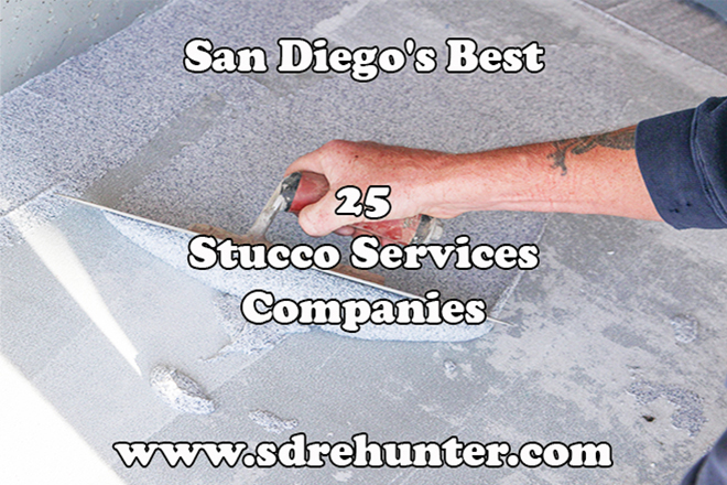 San Diego's Best 25 Stucco Services Companies 2018