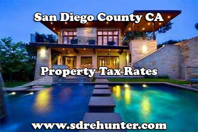 San Diego County CA Property Tax Rates (2018 Update)