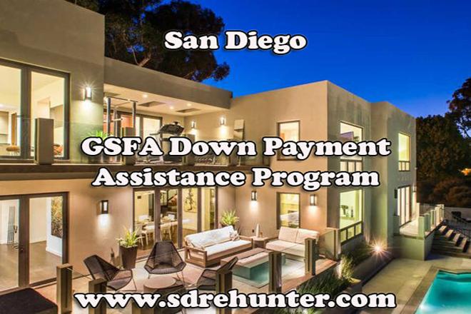 San Diego GSFA Down Payment Assistance Program (2019 Update)