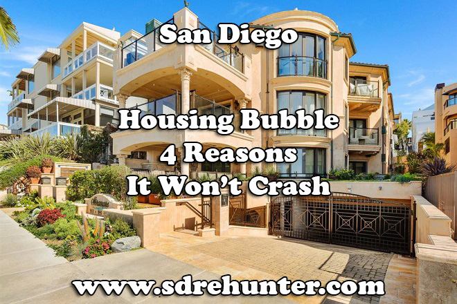 San Diego Housing Bubble? 4 Reasons it Won't Crash in 2020 | 2021