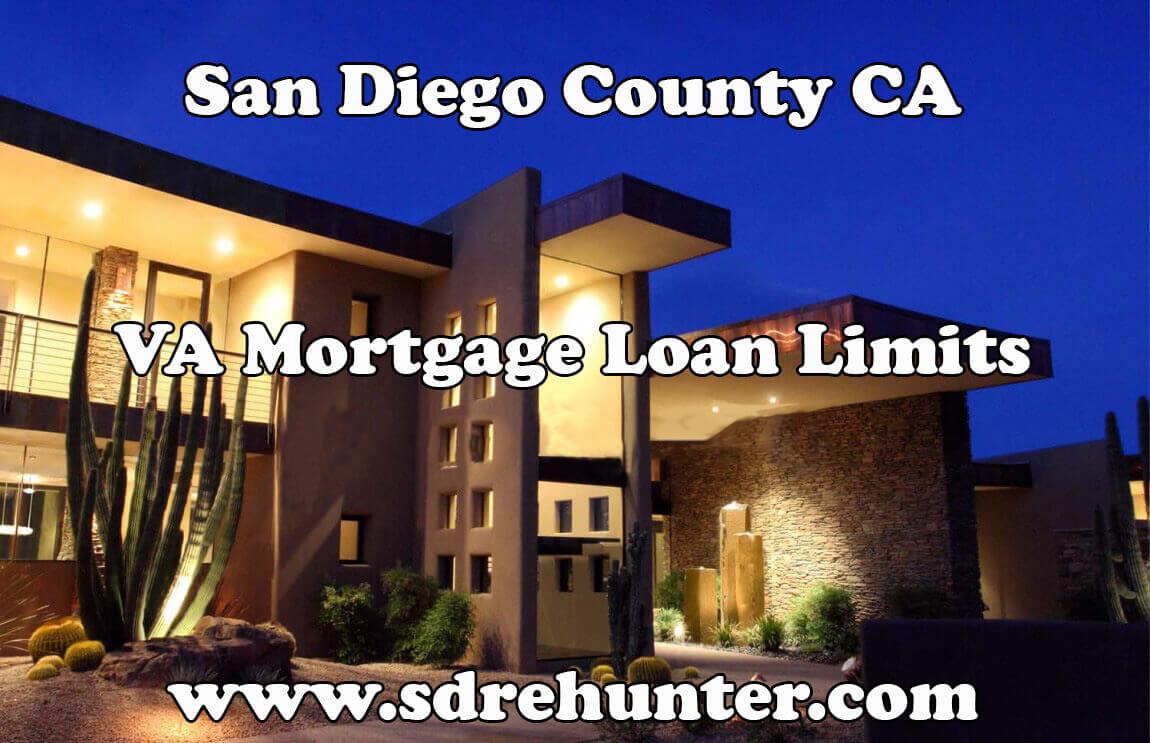 San Diego VA Mortgage Loan Limits (2018 Update)
