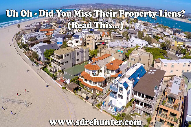 Uh Oh - Did You Miss Their Property Liens? (Make Sure You Read This...)