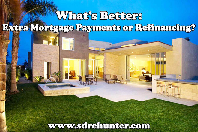 What's Better: Extra Mortgage Payments or Refinancing?