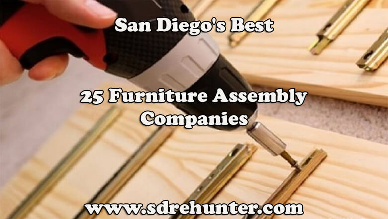 San Diego's Best 25 Furniture Assembly Companies in 2017