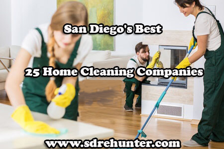 San Diego's Best 25 Home Cleaning Companies in 2017
