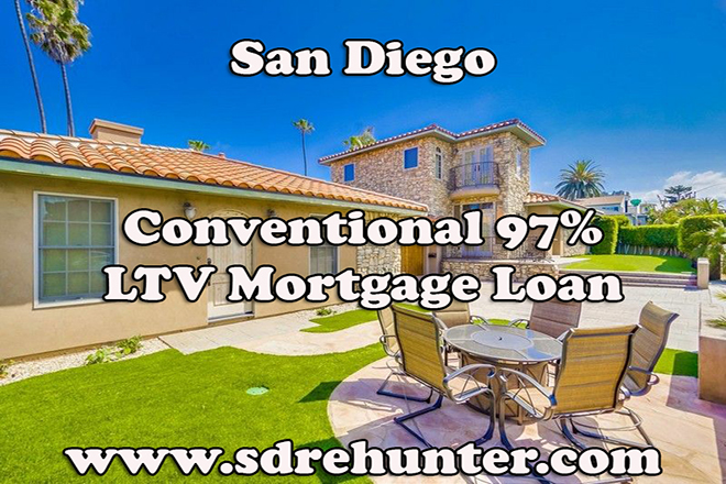 San Diego Conventional 97% LTV Mortgage Loan (2019 Update)