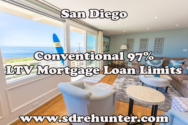 San Diego Conventional 97% LTV Mortgage Loan Limits (2017 Update)