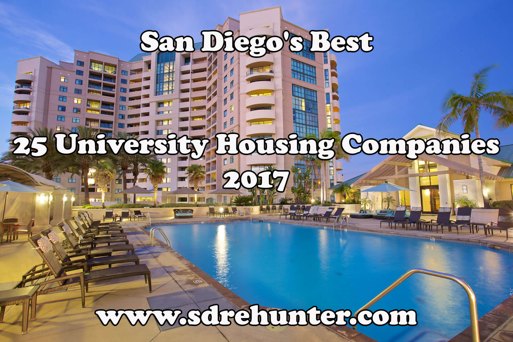 San Diego 39 S Best 25 University Housing Companies In 2018