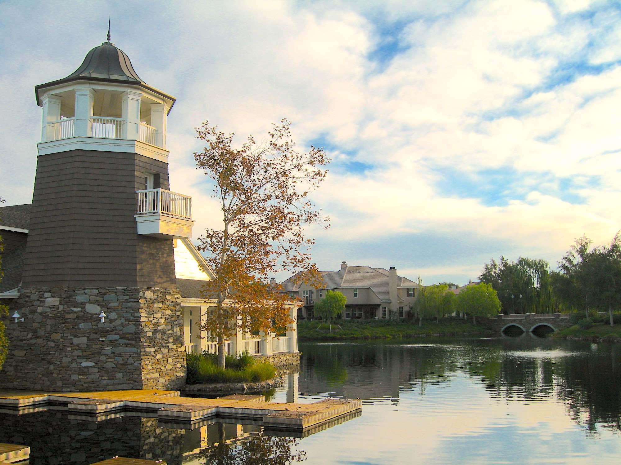 Bridgeport Lake Clubhouse in Valencia santa Clarita CA