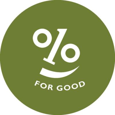 1% For Good Logo