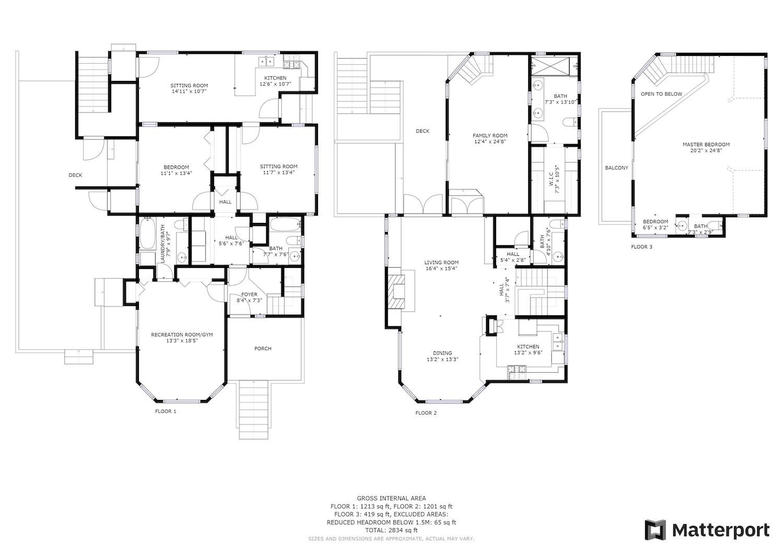 127 Bethany Curve - full floor plan