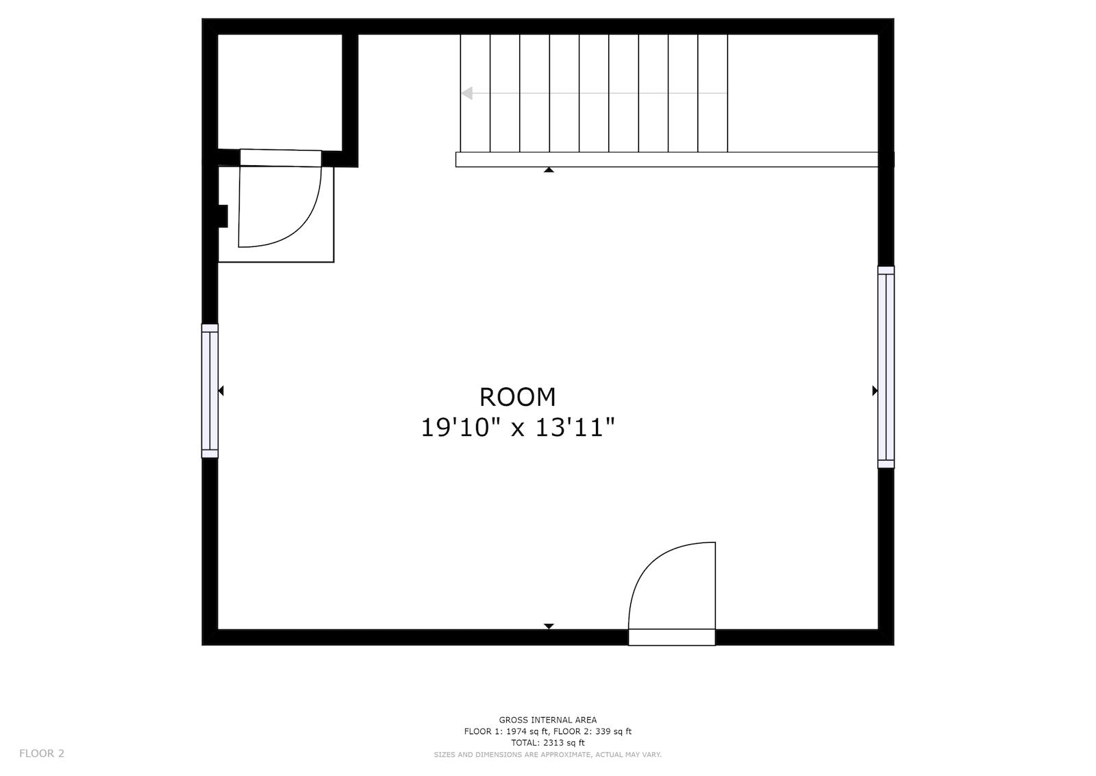 floor plan room