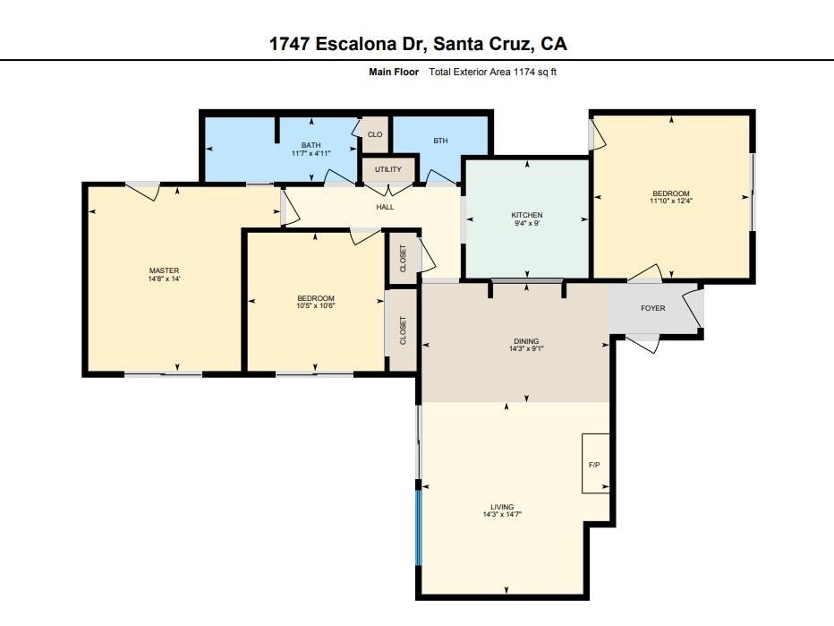 1747 escalona drive floor plan