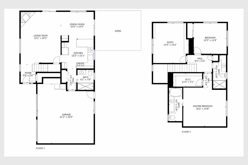 222 quarry santa cruz - main level floor plan