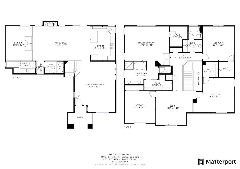 2241 Glenview Dr - full floor plan
