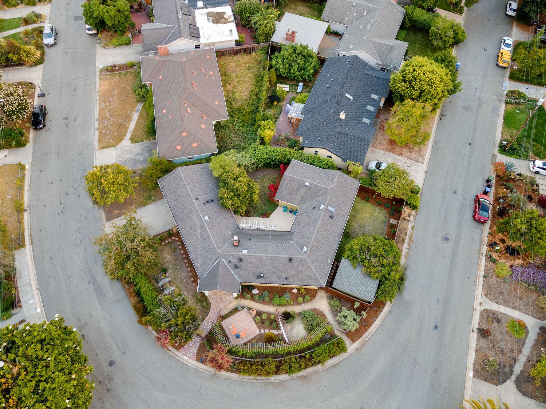 239 ross street santa cruz - top view of house