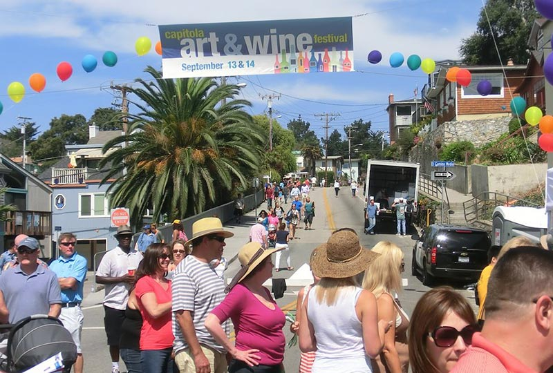 capitola art and wine festival