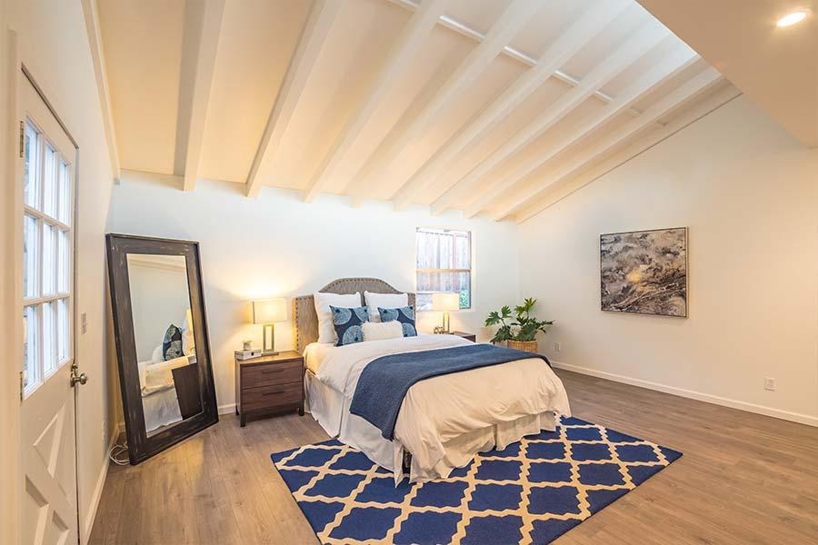 santa cruz home with angled roof