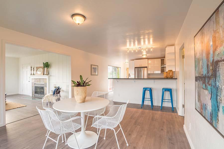 santa cruz home with updated kitchen