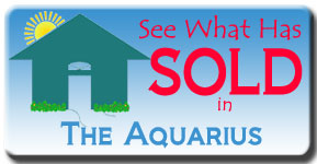 What has sold recently at the Aquarius Club on Longboat Key