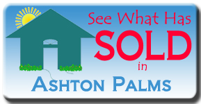The latest home home sales in Ashton Palms in Sarasota, FL