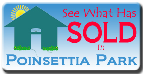Poinsettia Park is west of the trail in Sarasota and see what real estate is selling for.