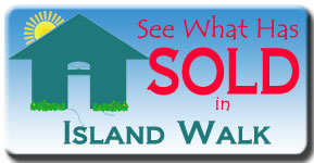 Take a look at the latest sales over the past six months at Island Walk in Venice, FL