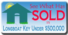 Sold under $500,000 on Longboat Key, FL