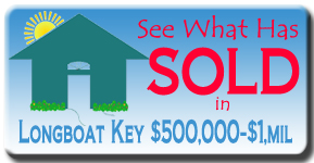 Longboat Key Sales from $500 to $1mil