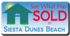 The latest MLS report sales at Siesta Dunes on Siesta Key