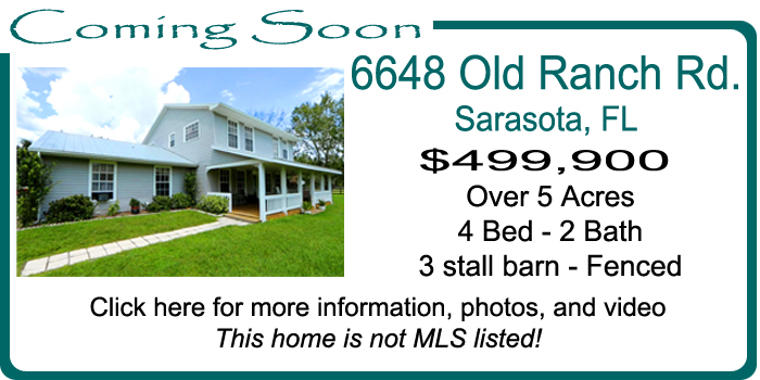 6648 Old Ranch Road in Sarasota - For Sale