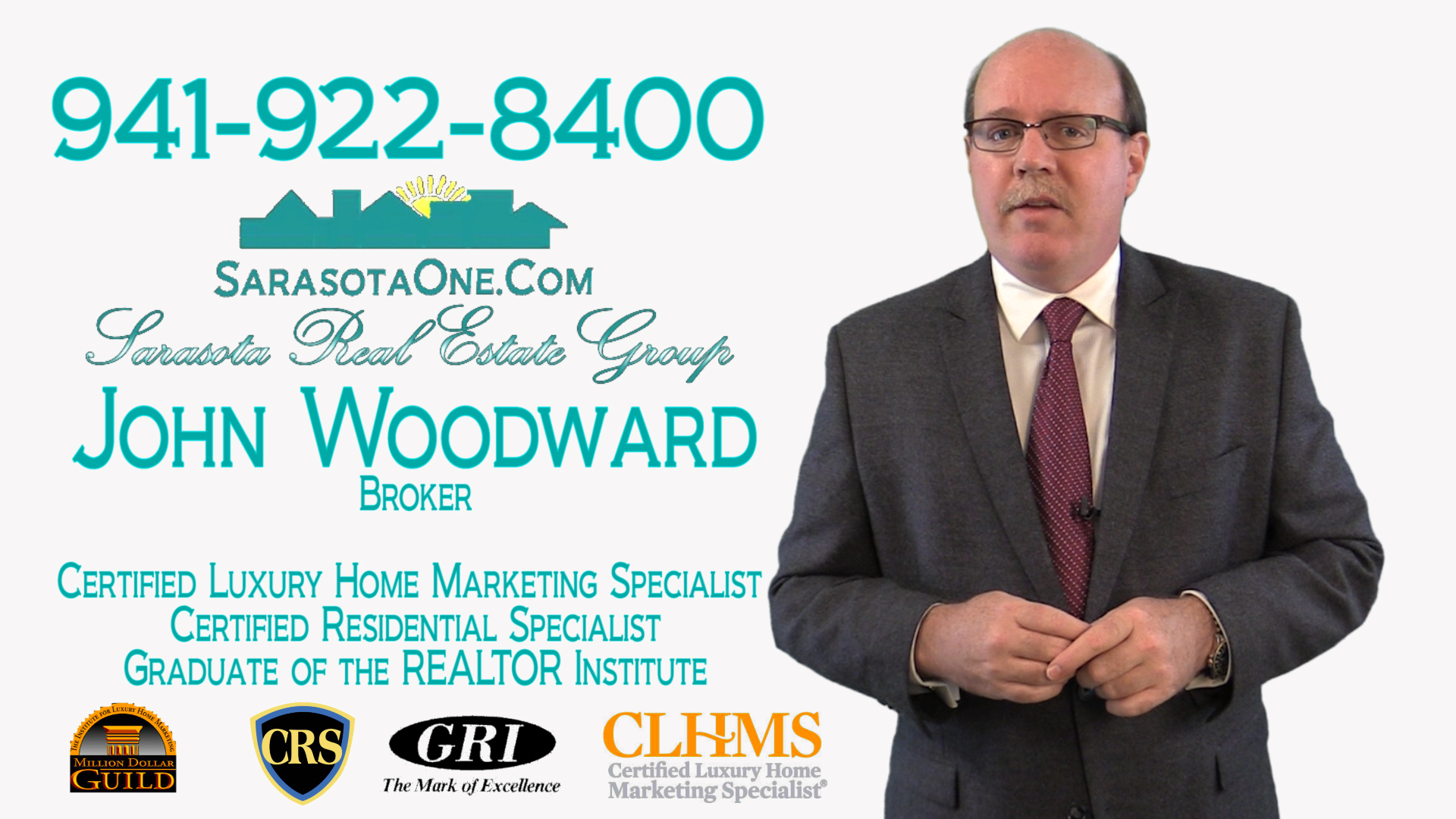 Call Sarasota Realtor John Woodward when you are ready to sell your home in Sarasota.