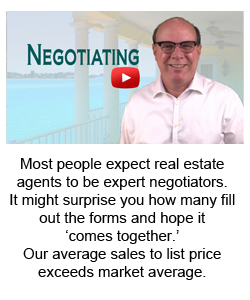 Most people expect real estate agents to be expert negotiators.  It might surprise you how many fill out the forms and hope it  'comes together.'  Our average sales to list price exceeds market average.