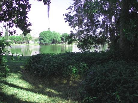 View of Lake Mystic in Sarasota, FL