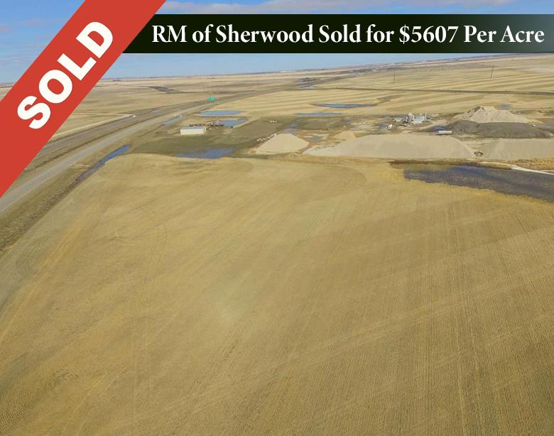 Selling sask farm land for top dollar
