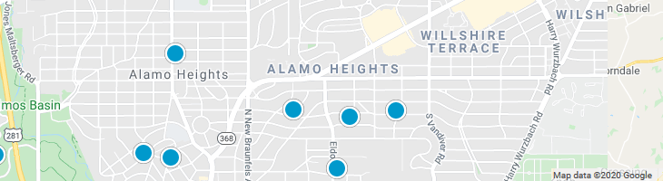 Search By Map : Alamo Heights Texas Homes For Sale