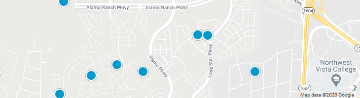 Search By Map : Alamo Ranch Homes For Sale