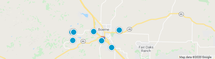 Search By Map : Boerne Texas Homes For Sale