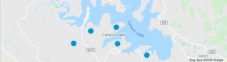 Search By Map : Canyon Lake Texas Homes For Sale