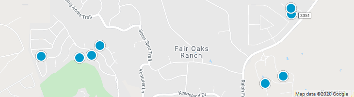 Search By Map : Fair Oaks Ranch Texas Homes For Sale